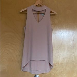 Veronica M Sleeveless Blouse Nude Pink - Small